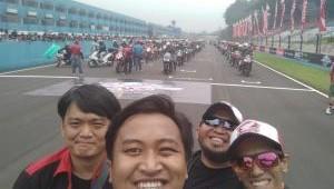 CBR Race Day 2018. Saat Ketua AHJ dan HRC Jakarta Kompak di Sirkut Sentul.