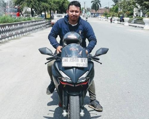 Kenalan Dengan Saypul Bahri, PIC Community Honda TDM Lampung