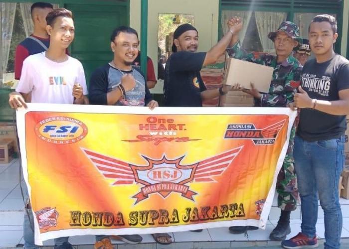 3 Klub Honda Supra Kompak Salurkan Bantuan Korban Bencana Tsunami.