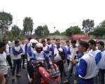 Para Biker's Dari HPCI Chapter JADETA Antusias Ikuti Pelatihan Safety Riding.