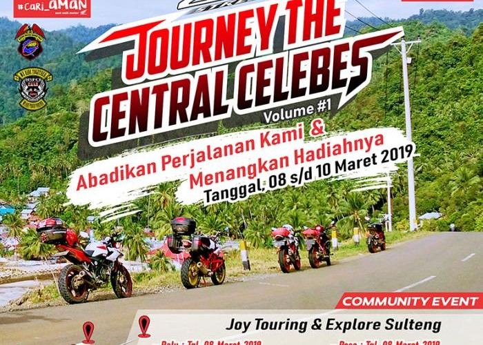 JOURNEY THE CENTRAL CELEBES CB150R Streetfire