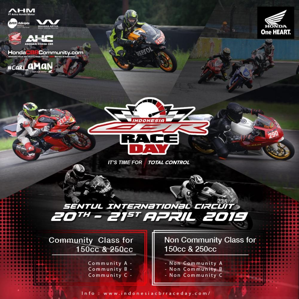 Indonesia CBR Race Day Seri 3