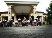 CBR Tomohon Community (CTC) support Pawai Pembangunan Kota Tomohon bersama Dealer Honda Anugerah Mul